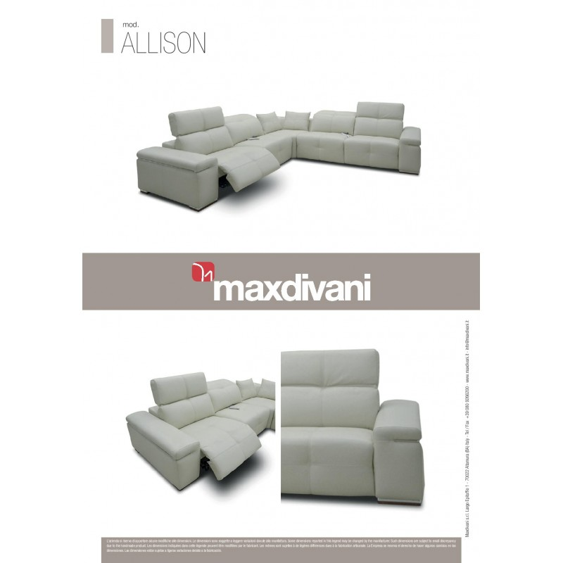 Allison Reclining Sectional