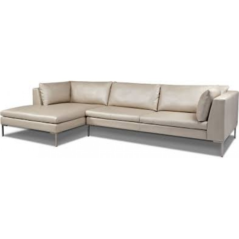 Inspiration 2pc Sofa with Chaise (Sectional)