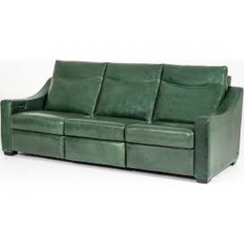 AMERICAN LEATHER SARASOTA RECLINING SOFA