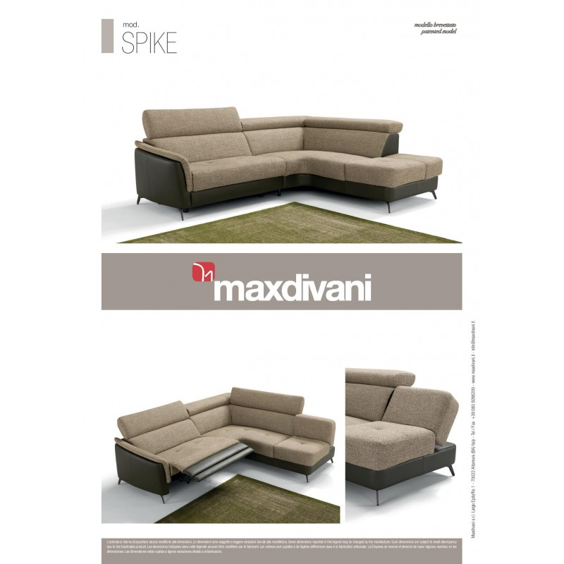 Spike Reclining Sectional