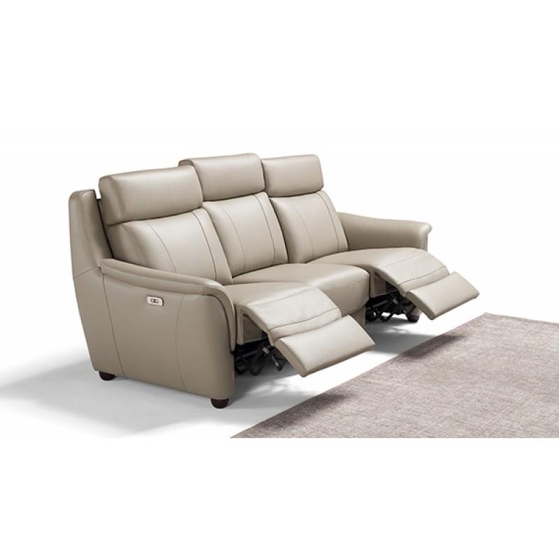Affogato Leather Reclining Sofa Group